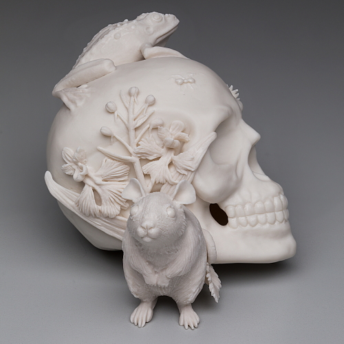 """memento mori 3"" side view"